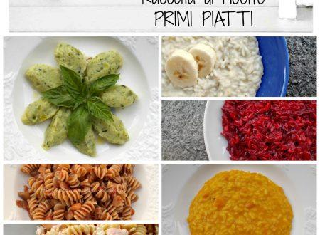 Raccolta di ricette: primi piatti