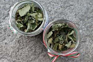 Preparato per infuso di melissa, idea regalo di Natale