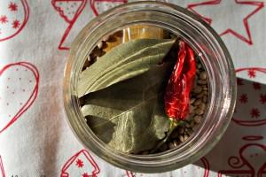 Preparato per zuppa di lenticchie al curry, idea regalo di Natale