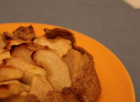 Galette di mele e pere, ricetta dolce