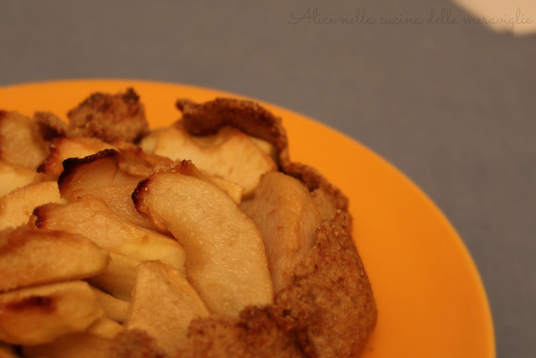 Galette di mele e pere Ricetta dolce Alice nella cucina delle meraviglie