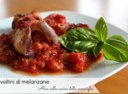 Involtini di melanzane, ricetta secondo