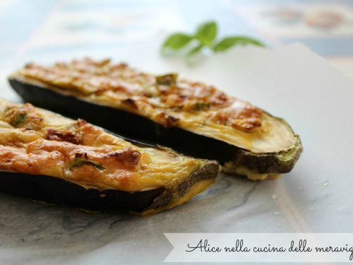 Melanzane ripiene, ricetta secondo vegetariano