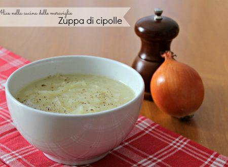 Zuppa di cipolle, ricetta primo piatto