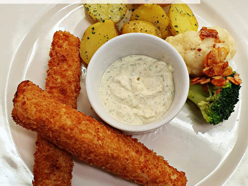 Filetti di lucioperca impanati con panko, ricetta secondo piatto di pesce