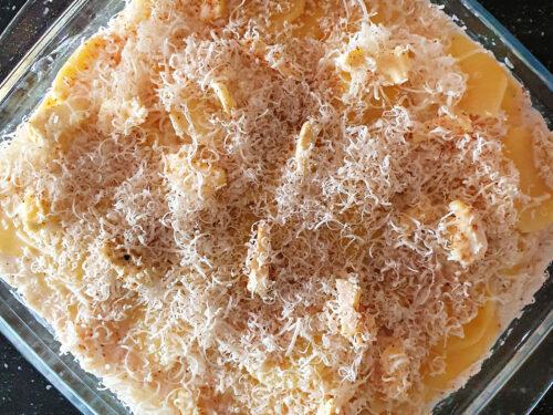 Gratin di patate light, ricetta contorno vegetariano