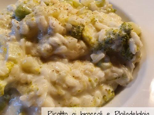 Risotto ai broccoli e Philadelphia, ricetta primo piatto vegetariano