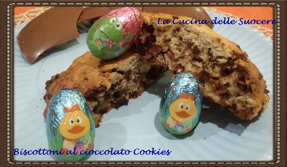 Biscottoni al cioccolato Cookies di Anna Moroni