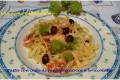 Pasta con code di rana pescatrice e broccolata (o broccolo romano)