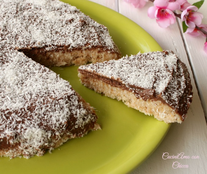 Torta bounty |CuciniAmo con Chicca
