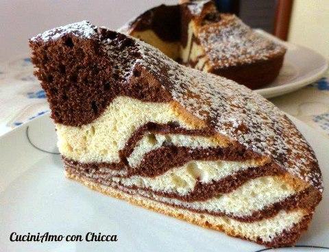 Torta Zebrata Cuciniamo Con Chicca