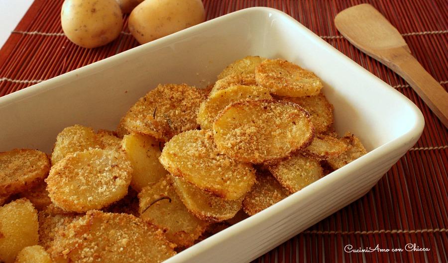 Patate sabbiose cotte in forno |CuciniAmo con Chicca