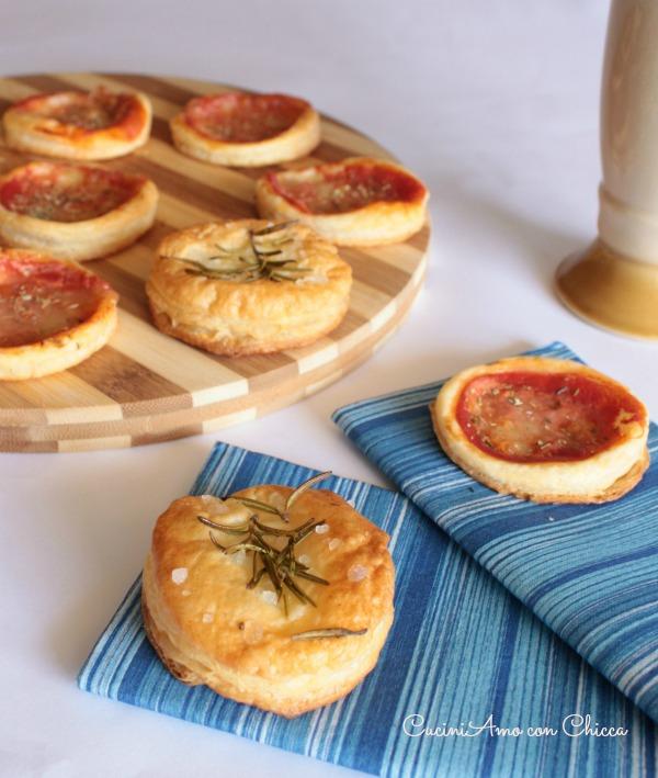 Le pizzette di sfoglia |CuciniAmo con Chicca