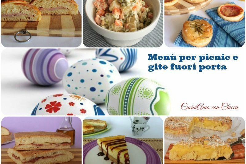 Menu per picnic e gite fuori porta di Pasquetta