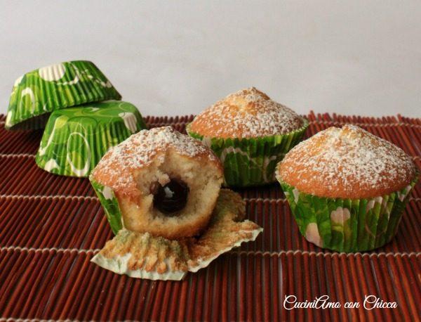 Muffin vaniglia e amarene