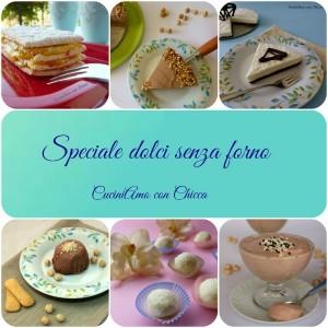 Speciale dolci senza forno