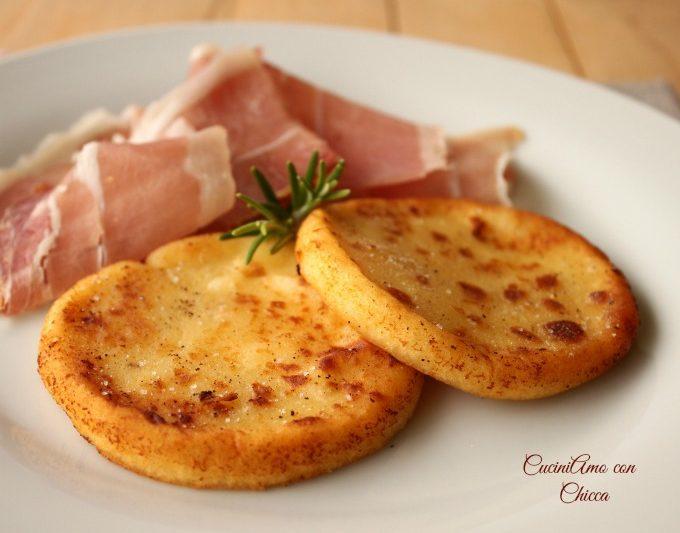 Gallette di patate con prosciutto