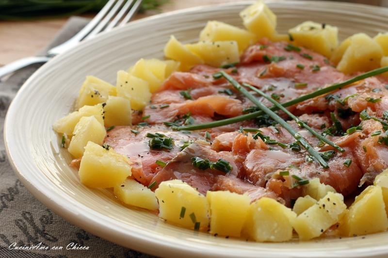 Insalata Estiva con Salmone e Patate