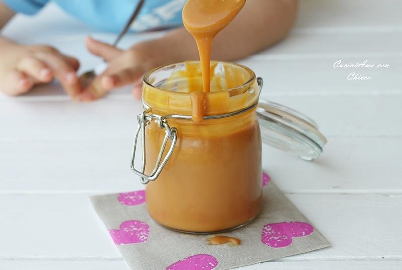 Salsa al caramello salato  CuciniAmo con Chicca