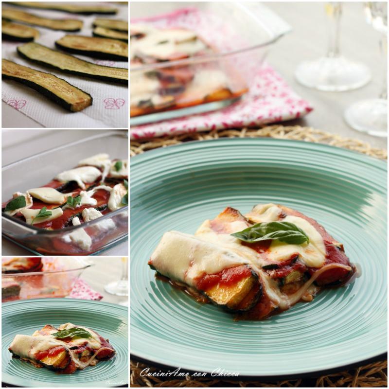 Parmigiana di zucchine e mozzarella |CuciniAmo con Chicca