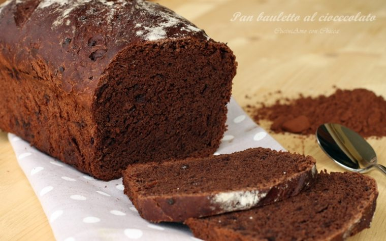 Pan bauletto al cioccolato