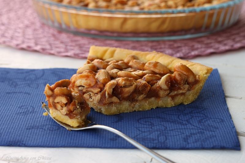 Torta al caramello e arachidi |CuciniAmo con Chicca