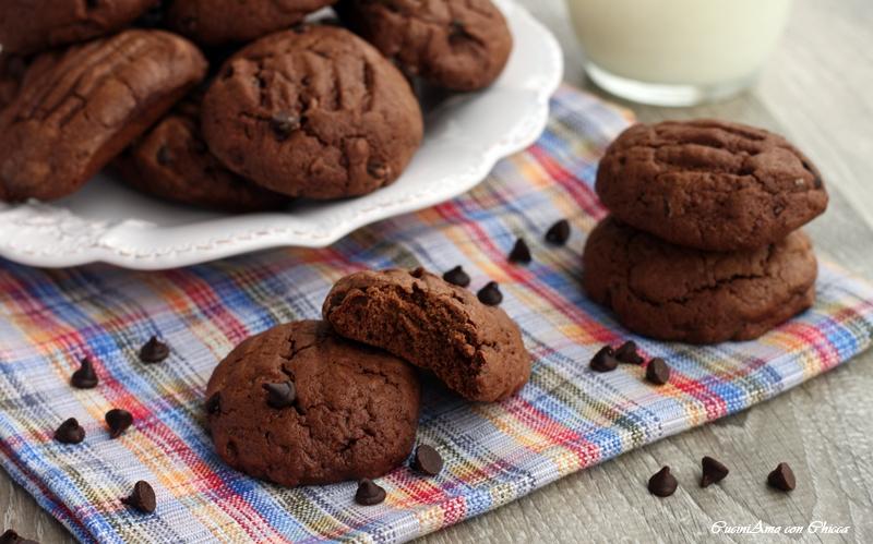 Biscotti da inzuppo al cioccolato