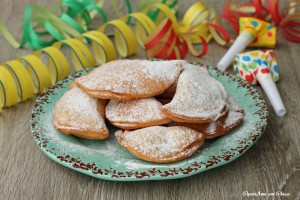 Ravioli dolci ricotta e gocce di cioccolata