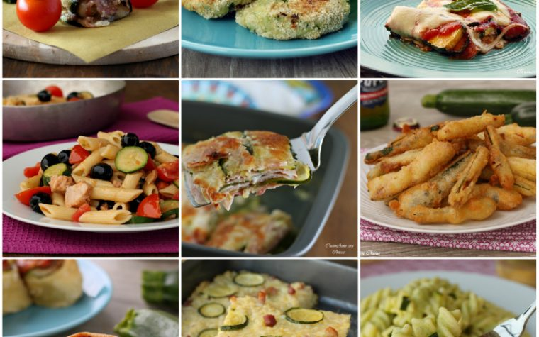 Le 10 migliori ricette con le zucchine