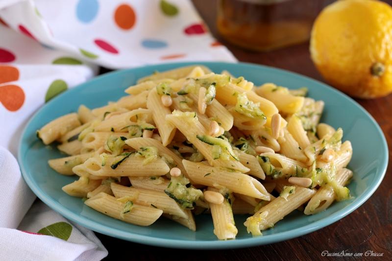 Pennette Cremose alle Zucchine e Limone
