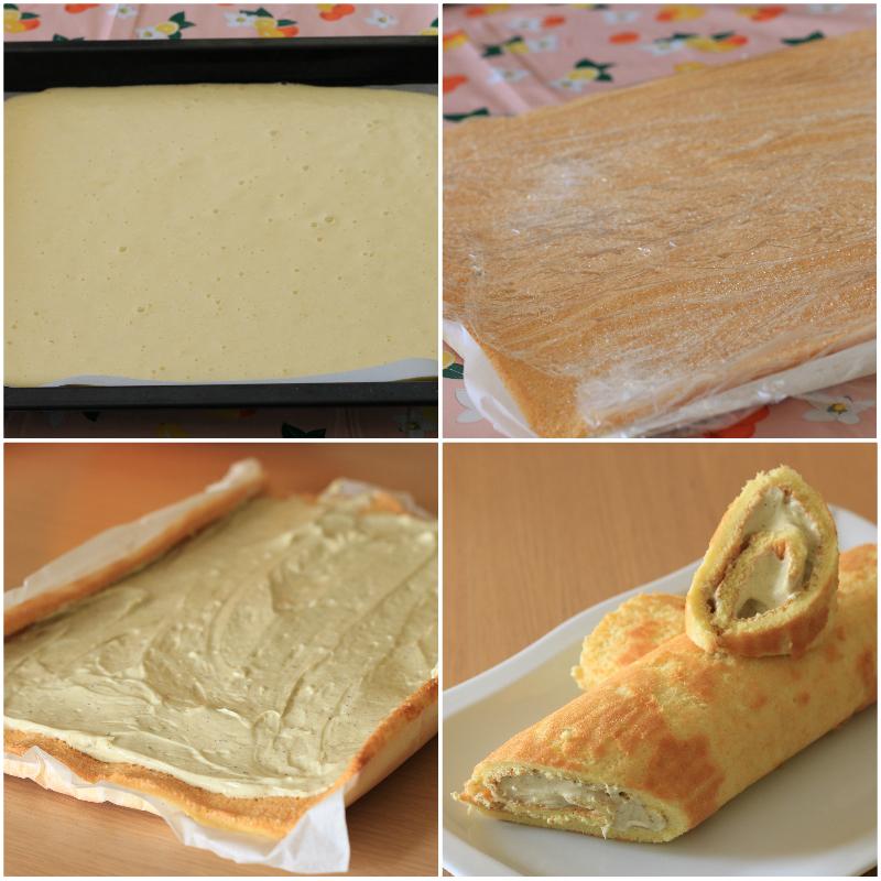 Tronchetto al pistacchio e mascarpone