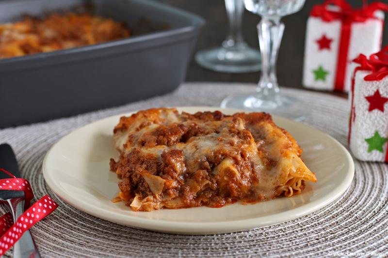 Lasagne al forno con ragù e besciamella