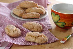 Biscotti da inzuppo senza ammoniaca e burro