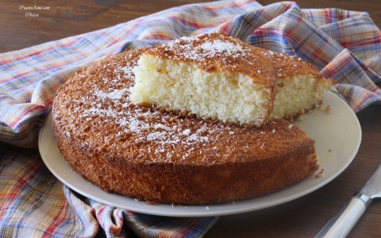 Torta soffice cocco e limone