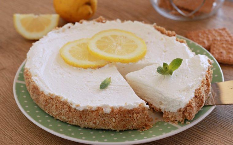 Crostata al limone senza forno
