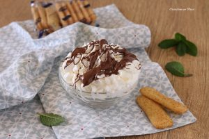 Crema allo yogurt e nutella