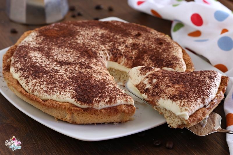 Crostata al caffè con crema al mascarpone