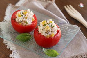 Pomodori con tonno e philadelphia