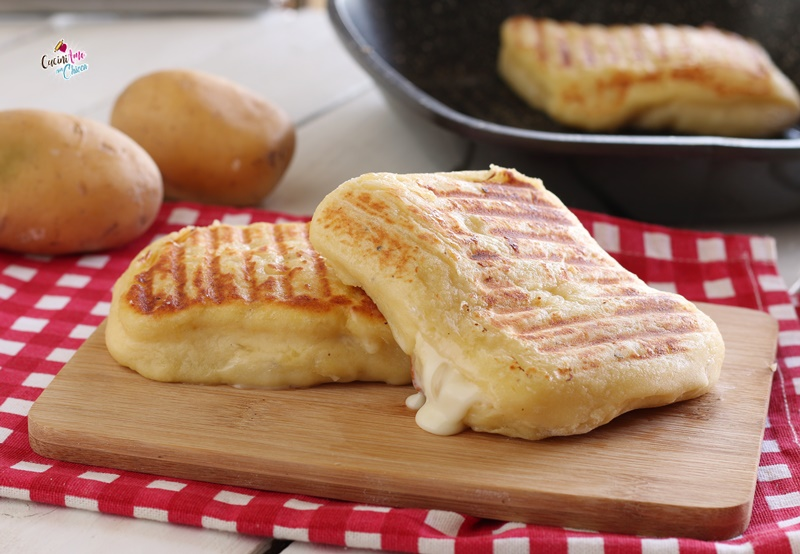 Toast di Patate Morbidi e Filanti