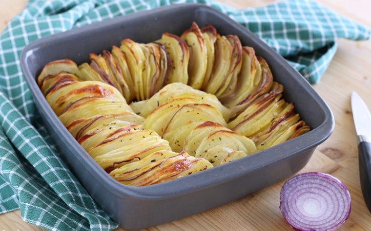 Patate e cipolle arrosto