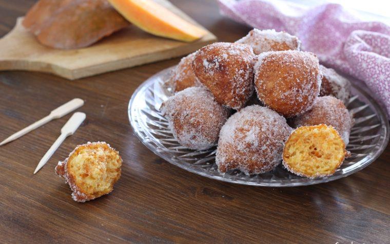 Frittelle dolci di zucca velocissime