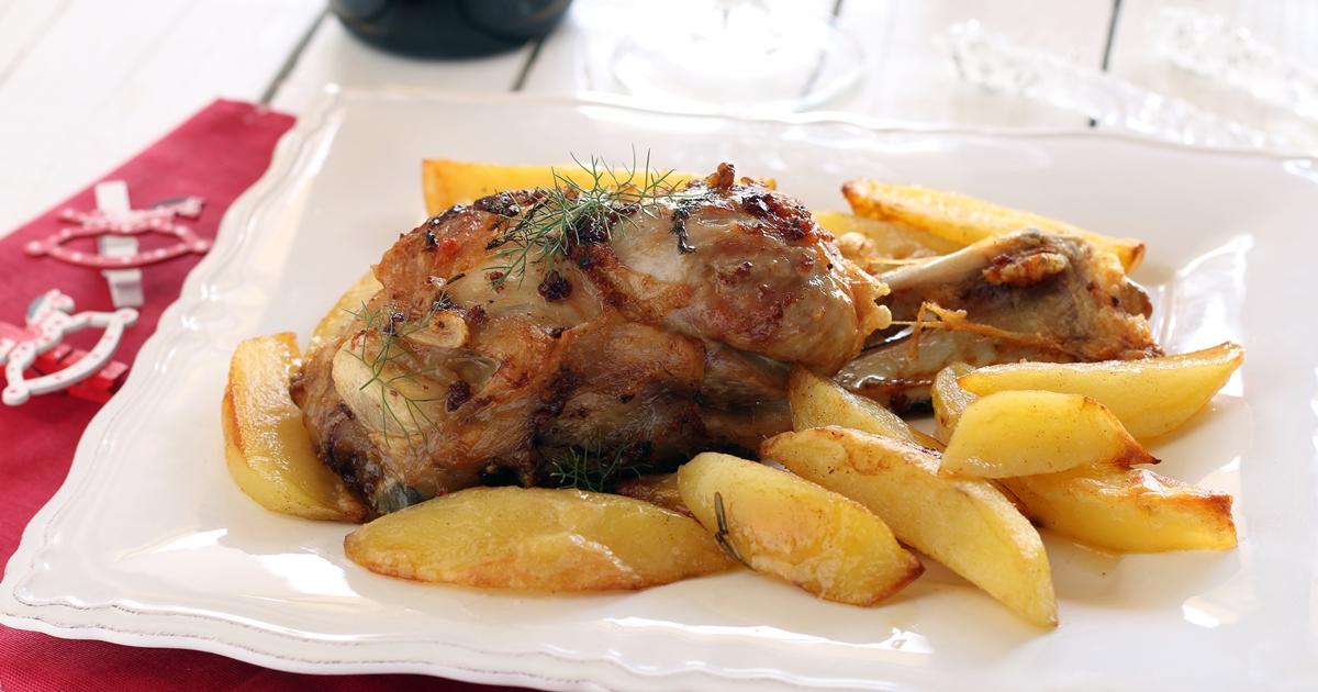 Stinco al forno con patate cuciniamo con chicca for Cose per cucinare 94