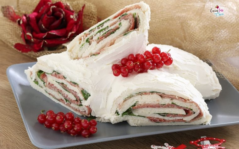 Tronchetto di Natale salato