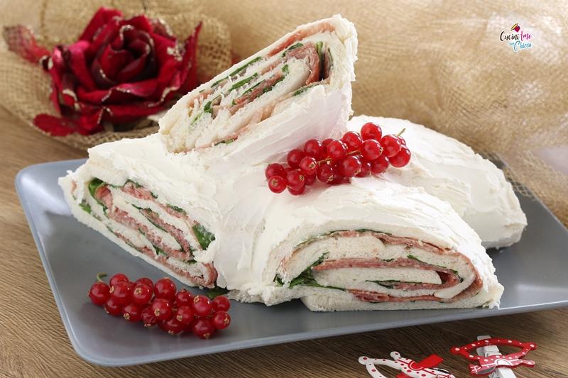 Tronchetto Bianco Di Natale.Tronchetto Di Natale Salato