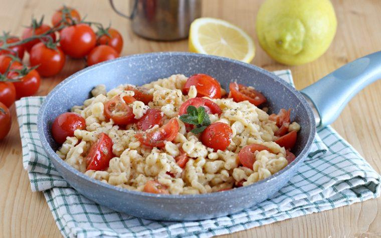 Gnocchetti Tirolesi con pomodorini