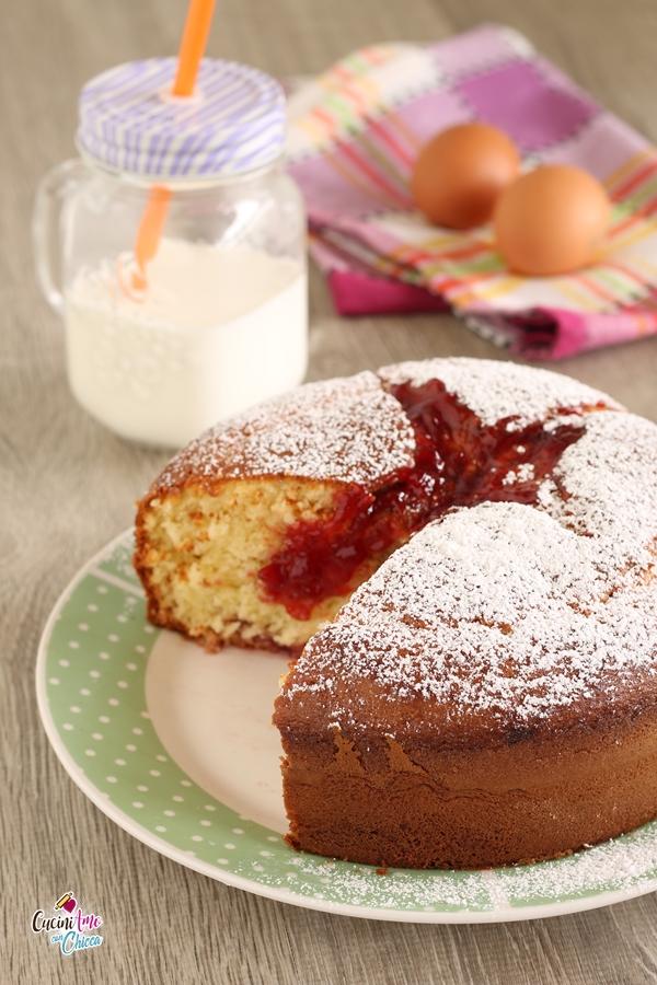 Torta Al Mascarpone E Marmellata Cuciniamo Con Chicca