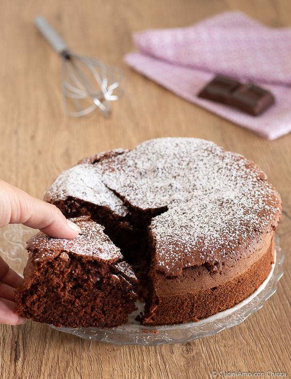 Ricette Torta Al Cioccolato Veloce.Torta Al Cioccolato Veloce Cuciniamo Con Chicca