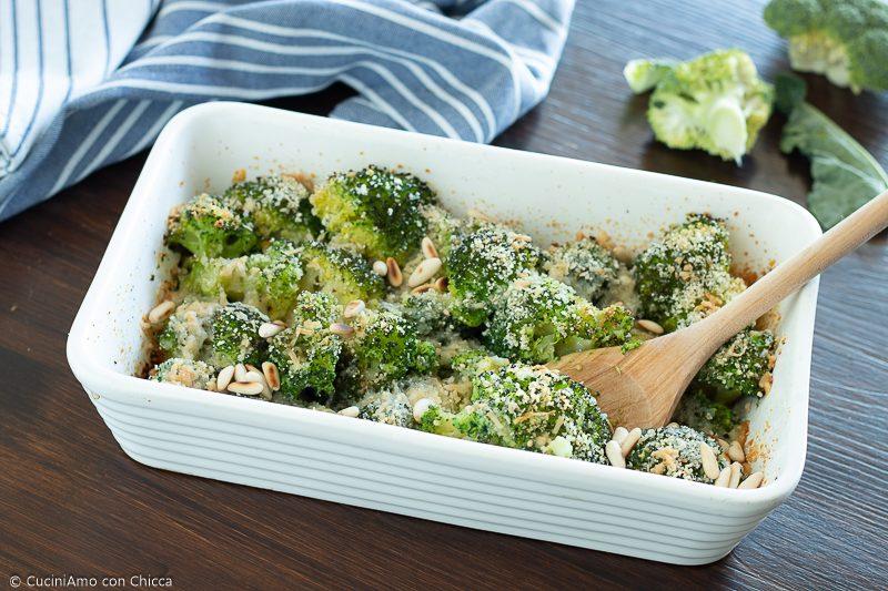 Broccoli gratinati saporitissimi