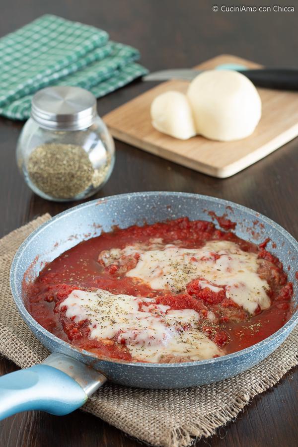 Carne di Maiale alla Pizzaiola Morbidissima e Filante