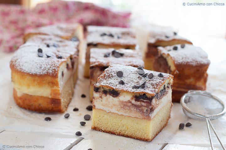 Torta morbida con ricotta e cioccolato